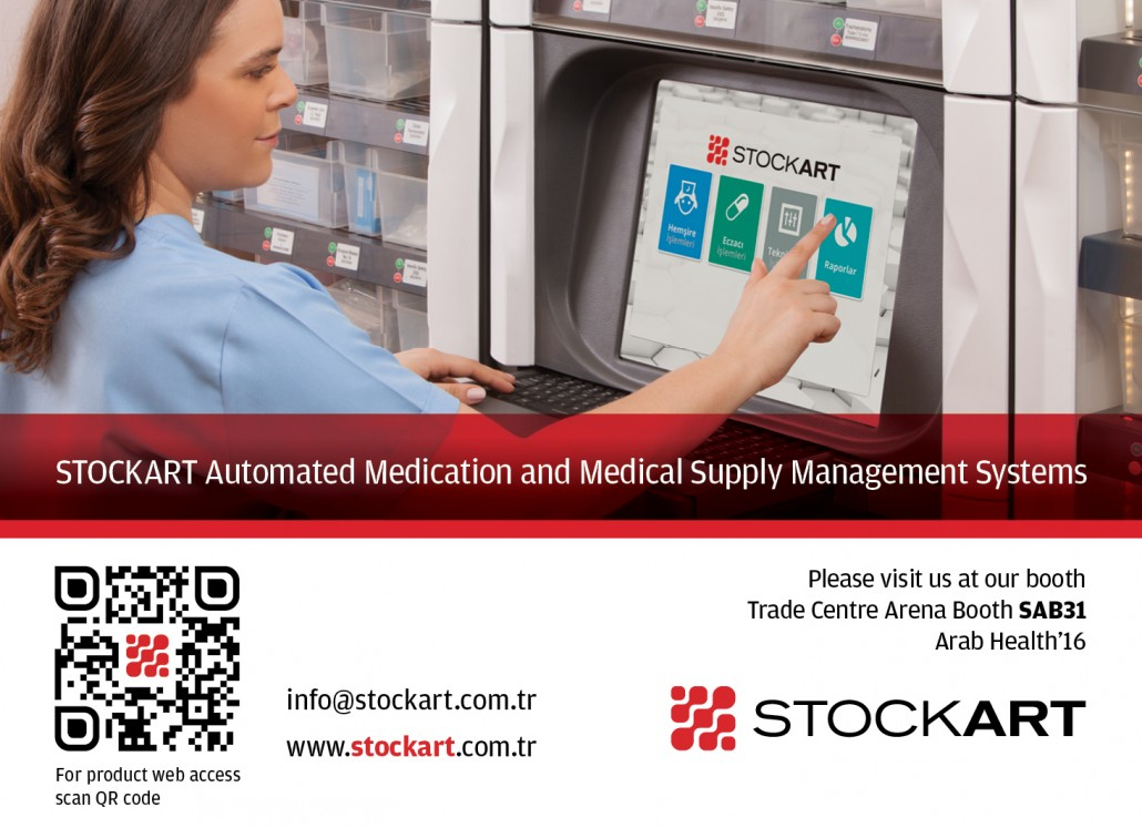 STOCKART Arab Health 2016 İlan
